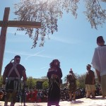 Passion Play shot with  . . .